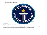 Guinness Record Maths - Converting Measurement Units