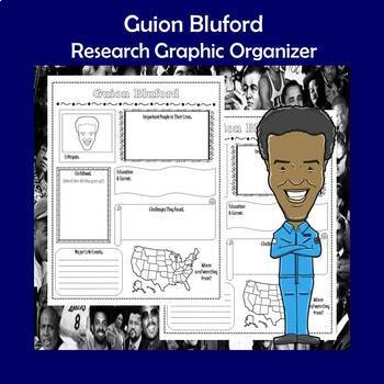 Guion Bluford Biography Research Graphic Organizer