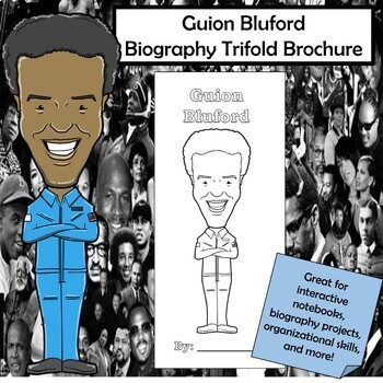 Guion Bluford Biography Trifold Brochure