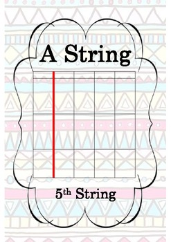Guitar A String Poster