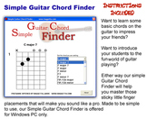Guitar Chord Finder for Windows PC