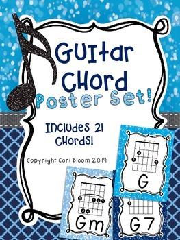 Guitar Chord Posters