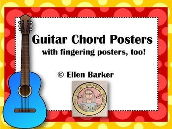 Guitar Chords and Fingering Posters