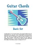 Guitar Chords: basic set