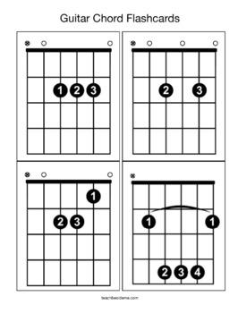 Guitar Chords for Kids