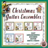 Christmas Music Ensembles: Six Guitar Arrangements