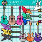 Guitar Clip Art: Acoustic & Electric Music Instrument Graphics {Photo Clipz}