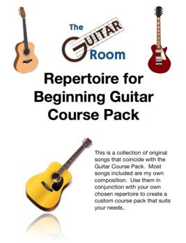 Guitar Course Pack - Repertoire Set 1, Original Songs