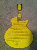 Guitar Cut-out (Interest Inventory)