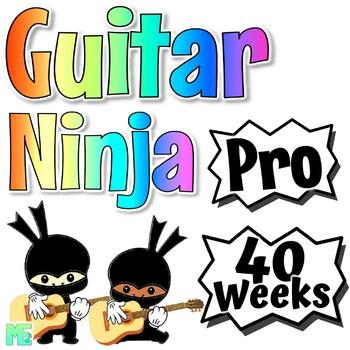 Guitar Lessons - Guitar Karate ~BUNDLE~ All Belts & Free Strumming Lesson!