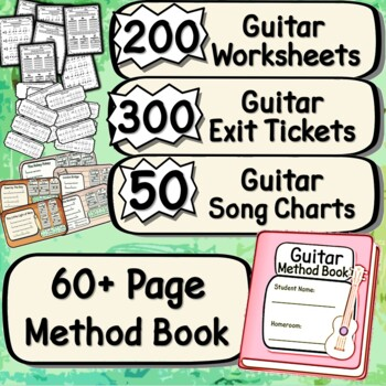 Guitar Lessons - Guitar Karate ~BUNDLE~ All Belts & Free Strumming Lesson!