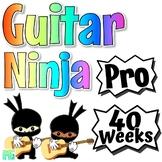 Guitar Ninja ~Pro~ Guitar Curriculum For Beginner Guitar Lessons