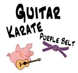 Guitar Lessons - Guitar Karate Chords, Lesson 6, Purple Belt