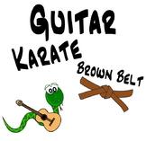 Guitar Lessons - Guitar Karate Chords, Lesson 8, Brown Belt