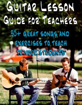 Guitar Lesson Guide For Teachers