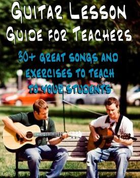 Guitar Lesson Guide For Teachers