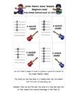 Guitar Memory Game (entry/beginner level)