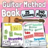 Guitar Method Book - Beginner Guitar Lessons for Distance Learning