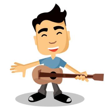 Guitar / Musician clip art
