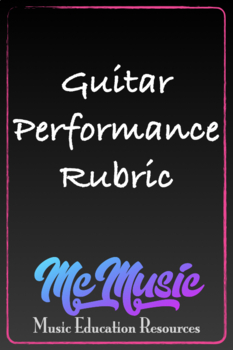 Guitar Performance Rubric
