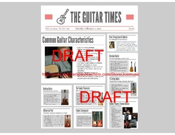 Guitar Powerpoint/ Prezi: Types of Guitars (Electric and A