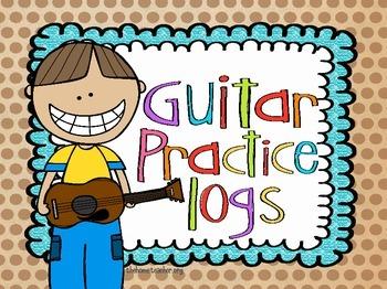 Guitar Practice Logs