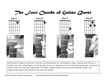 Guitar Quest- An Easy, Fun Unit for the General Music Classroom