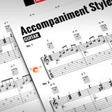 Guitar Sheet Music: Accompaniment Styles