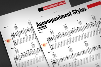 Guitar Sheet Music: Accompaniment Styles