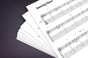Guitar Sheet Music: Amazing Grace (Hymn)