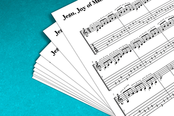 Guitar Sheet Music: Jesu, Joy of Man's Desiring (J.S. Bach)