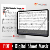 Guitar Sheet Music: The Star-Spangled Banner (National Anthem)
