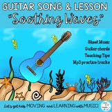 """Guitar Song in G """"Soothing Waves"""" Original and Easy 1 fing"""