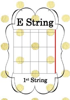 Guitar String Poster - E String