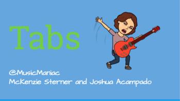 Guitar Tab Activity