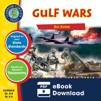 Gulf Wars BIG BOOK Gr. 5-8