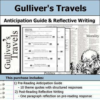 Gulliver's Travels Unit Bundle