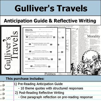 Gulliver's Travels - Anticipation Guide & Reflection