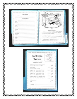 Gulliver's Travels Book Report and Lapbook