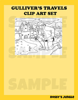 Gulliver's Travels Clip Art