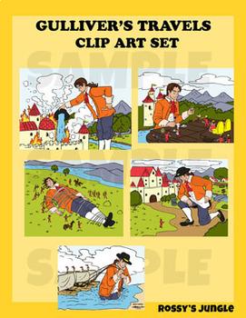 Gulliver's Travels Clip Art