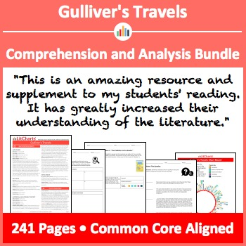 Gulliver's Travels – Comprehension and Analysis Bundle