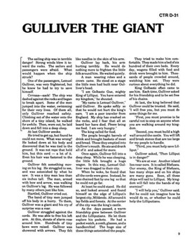 Gulliver's Travels Read-along with Activities and Narration