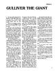 Gulliver's Travels 10 Chapter Reader