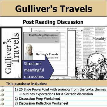 Gulliver's Travels - Socratic Method - Post Reading Discussions