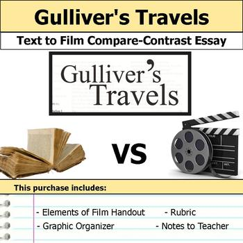 Gulliver's Travels - Text to Film Essay Bundle