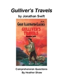 Gulliver's Travels by Jonathan Swift Comprehension Questions
