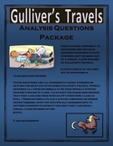 Gulliver's Travels Analysis Question Package
