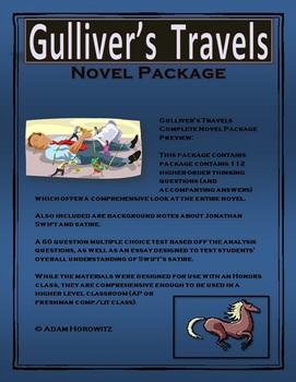Gulliver's Travels Complete Novel Package