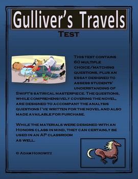 Gulliver's Travels Novel Test